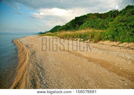 Gombe Stream National park is located on the shores of lake tanganyika - Kigoma Tanzania