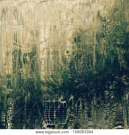 Vintage background with dirty grungy texture or overlay and different color patterns: yellow (beige); brown; gray; green; blue; white