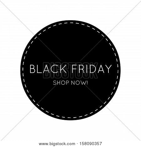 Black Friday, shopping - sign idea for your stylish Shop. Can be used as poster, flash sale, icon.