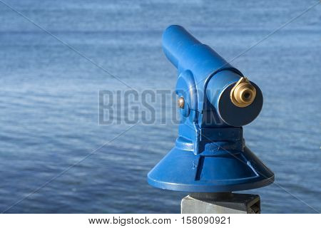 Public Coin Operated Tourist Telescope - Monocular