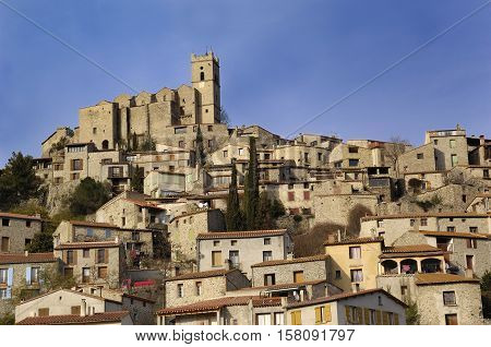 General wieu Eus Pyrenees Orientales Languedoc-Roussillon France