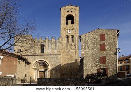 Sainte Marie Corneilla de Conflent Languedoc Roussillon Pyrenees OrientalesFrance