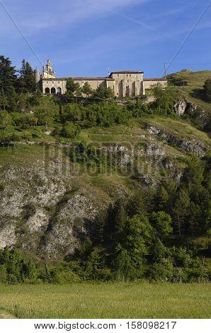 Santa Casilda shrine La Bureba Burgos province Castile-Leon Spain