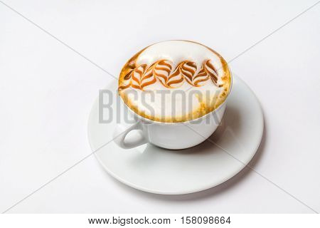 cappuccino with caramel