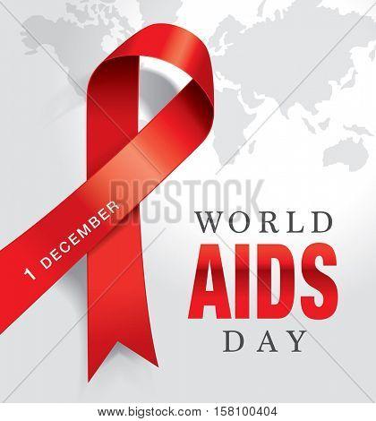 1st December, World Aids Day poster.
