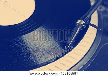 Dj Needle On Record