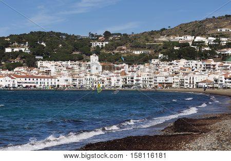 Village of El Port de la Selva Costa Brava Girona province Catalonia Spain