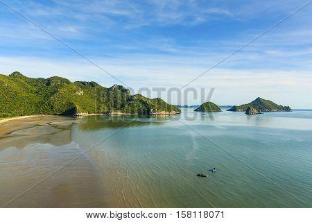 Banpu Beach in Prachuap Khiri Khan Province