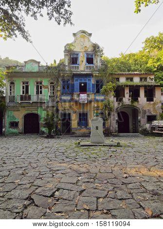 Largo Do Boticario In Rio De Janeiro