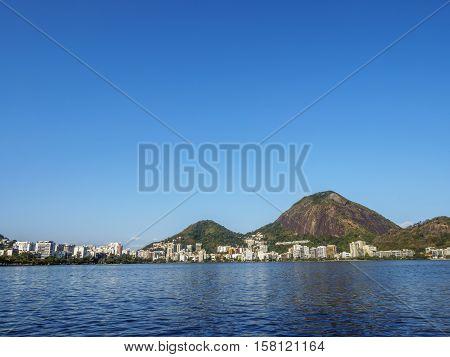 Rodrigo De Freitas Lagoon In Rio