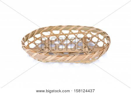 The Kagome lattice is a Japanese traditional woven pattern of bamboo basket on white background