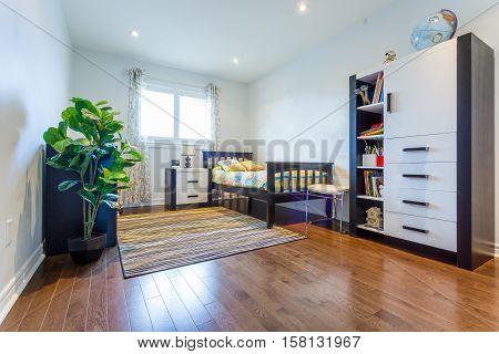 Children living room interior design for kids