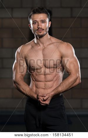Healthy Man With Six Pack