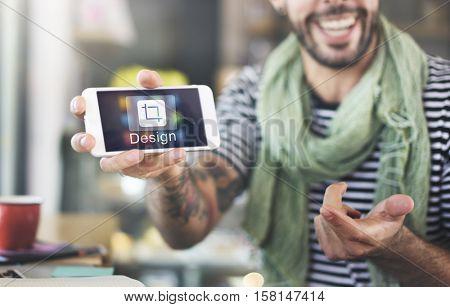 Design Software Resize Icon Mobile