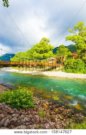 Kamikochi Kappa Bridge Dramatic Morning Light V