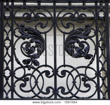 Iron work detail. Picture is taken in