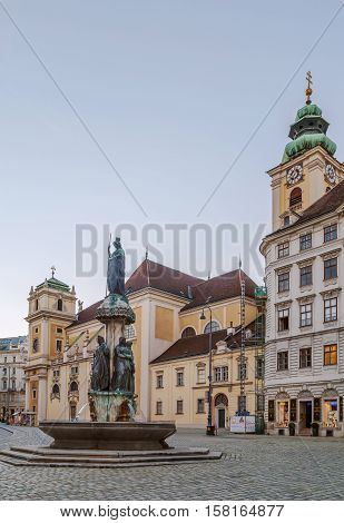 The Schottenstift (English: Scottish Abbey) is a Roman Catholic monastery founded in Vienna in 1155 Austria