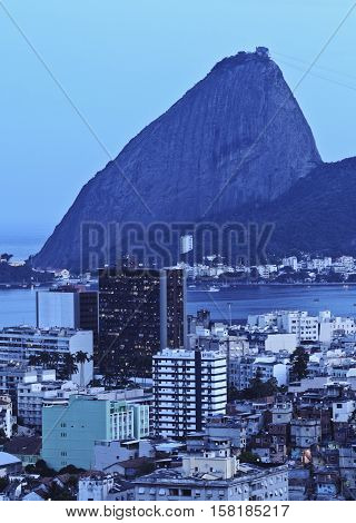 Sugarloaf Mountain In Rio