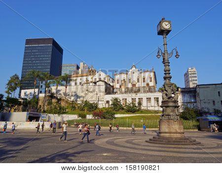 Carioca Square In Rio