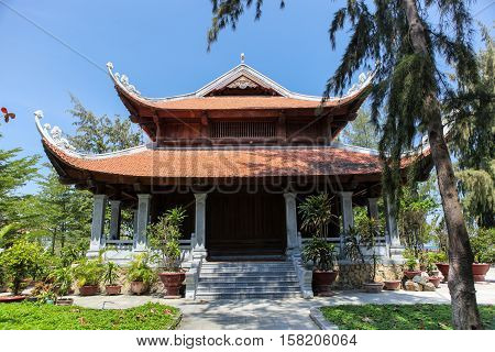 Vietnamese temple in the coastal city of Nha Trang.