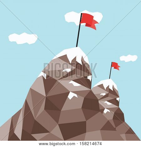 Mountain Peak, Success And Mission, Winner On Top