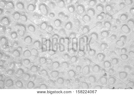 Abstract background with concave bubbles for your design. Photo.
