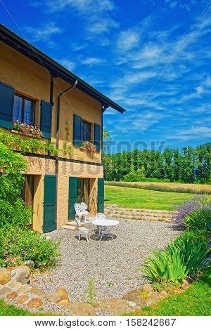 House In Yverdon Of Jura Nord Vaudois Vaud Switzerland