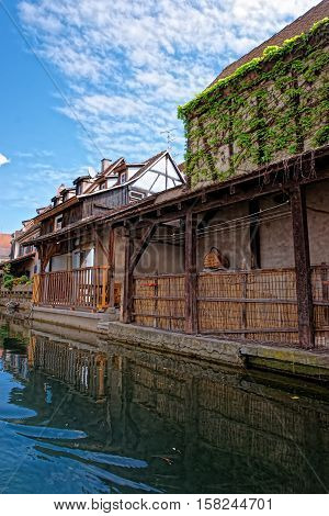 Little Venice At Colmar In Alsace Of France