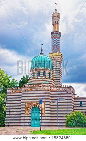 Mosque In Winterthur In Zurich Canton Of Switzerland