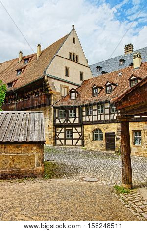 Old Palace In Bamberg City Center In Germany