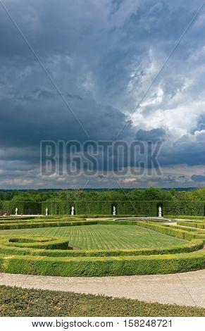 Orangerie Park Of Versailles In Paris In France