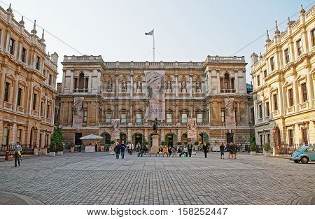 Royal Academy Of Arts On Piccadilly London