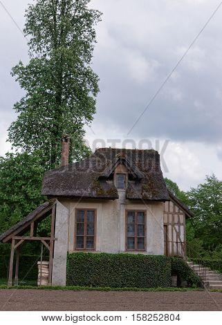 Rustic Village Of Marie Antoinette At Palace Of Versailles Paris