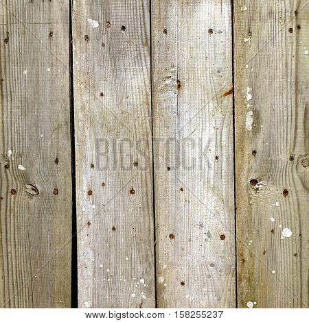 Old Barn Wood Square Background. Grey Wooden Frame Texture. Rustic Gray Timber Wall. Hardwood Outdoor Horizontal Rectangle Signboard Or Billboard. Shabby Paint Wood Gray Weathered Panel