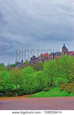 Vezelay Abbey Bourgogne Franche Comte Region Of France