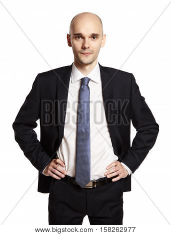 Determined Businessman