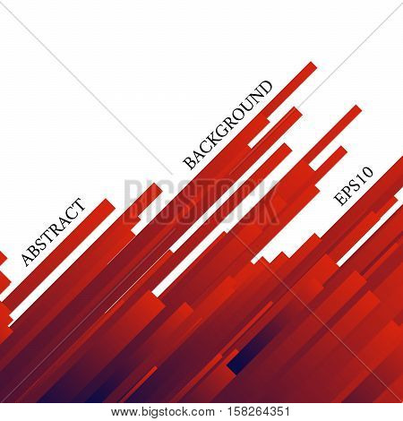 Abstract Background With Red Stripes.