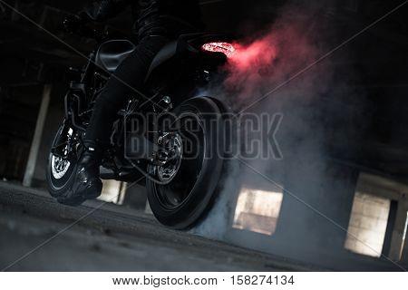 Rider Ride And Burn Wheel Tire
