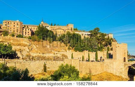 Museum of Santa Cruz, Convento de La Concepcion and Alcantara Bridge in Toledo - Spain