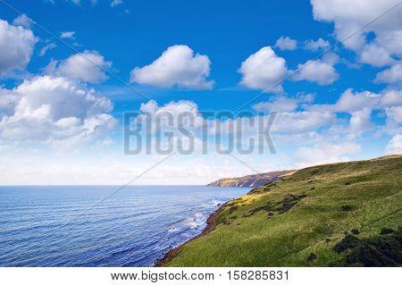 View Over Coastline Of Scottish Borders