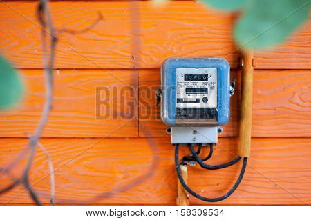 An Smart Meter In Soft Light