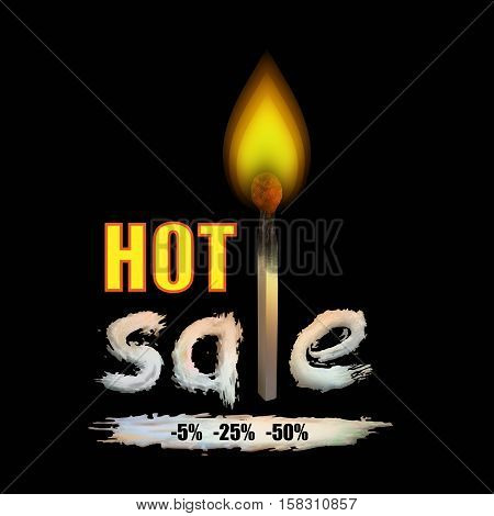 Hot sale . Lucifer match . last-minute discounts .