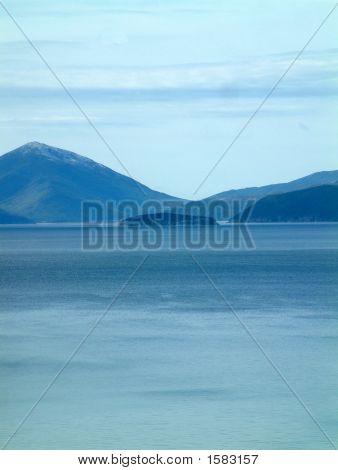 Prespa Lake , Island Golem Grad
