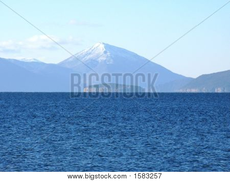 Island Golem Grad On Lake Prespa