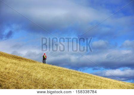 Alpine trekking in National Park Retezat, Romania