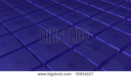 Cube like texture
