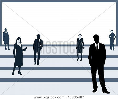 The People On A Platform