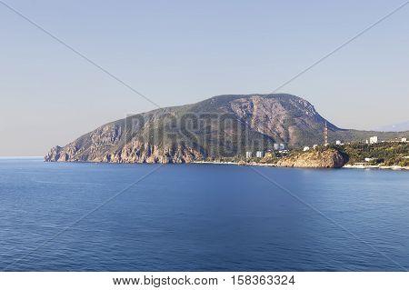 Ayu-Dag (Bear Mountain). Republic of Crimea. Russia