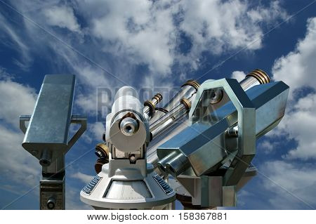 Telescope Viewer (tourist Type Telescope)