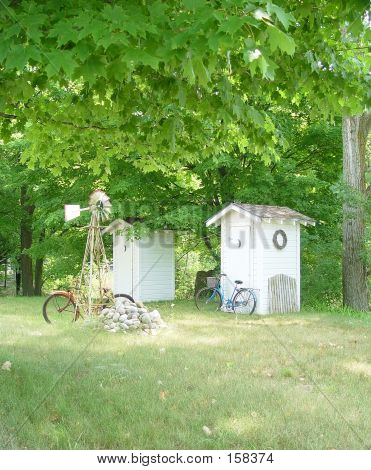 Outhouses In The Country